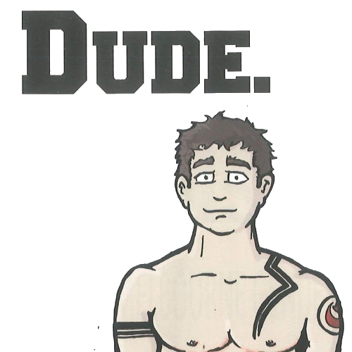 Dude magazine, n.1, 2010, Periodicals Collection