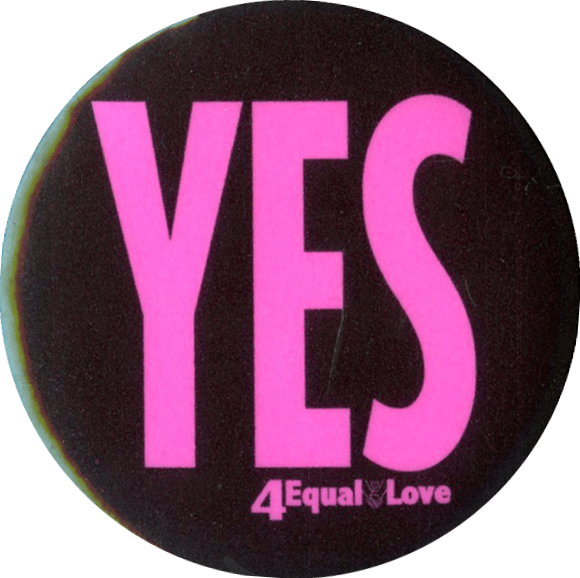 Yes 4 Equal Love (Melbourne - Equal Love, c.2010s), Badge Collection